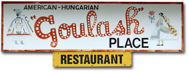 Goulash Place banner